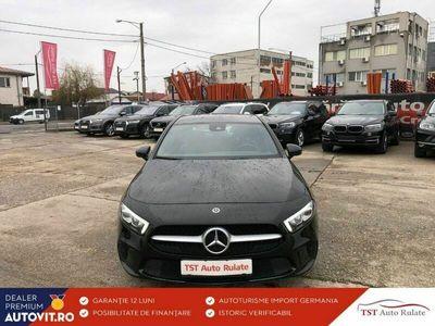 second-hand Mercedes A180 2020 Automată, motor Diesel 116 CP, 7.600 km, Hatchback