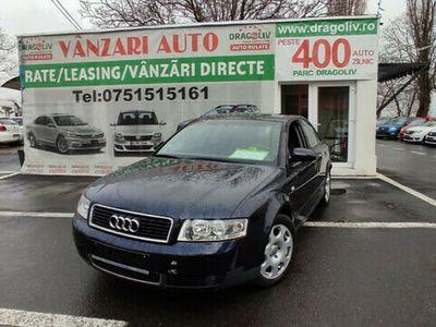 second-hand Audi A4 1.6Benzina,2002,Finantare Rate