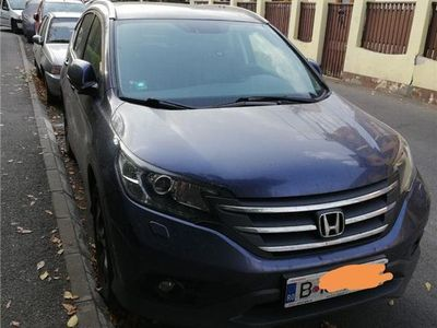 second-hand Honda CR-V 4wd 2.2 i-dtec executive + hdd navy m/t
