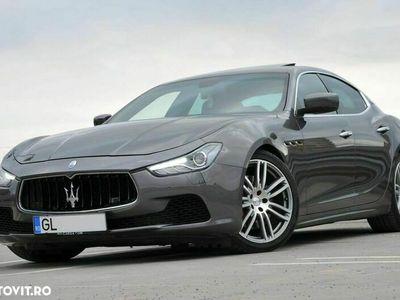second-hand Maserati Ghibli Automatik