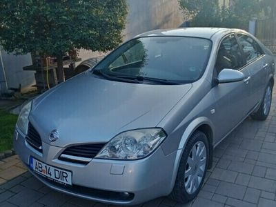 second-hand Nissan Primera 2,2 diesel, model TEKNA, 150000 km, an 2003.