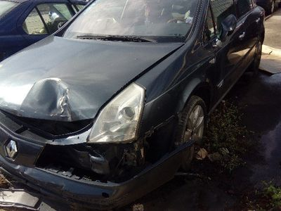 second-hand Renault Vel Satis avariat