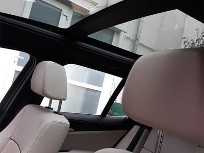 second-hand BMW X1 Xdrive X-line panoramic 4x4 interior crem
