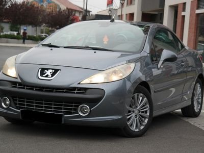 second-hand Peugeot 207 CC Cabrio - an 2007, 1.6 Hdi (Diesel)