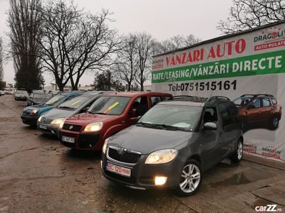 second-hand Skoda Roomster 1.9 TDI-2008-Panorama-Clima-Finantare rate