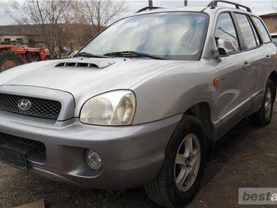 second-hand Hyundai Santa Fe 4x4, 2.0 CRDI Diesel, an 2002