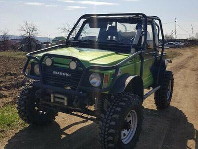 second-hand Suzuki Samurai 4x4 off road pentru pasionati