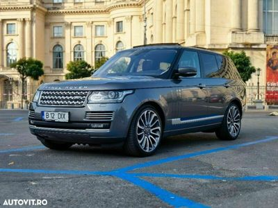 second-hand Land Rover Range Rover 5.0