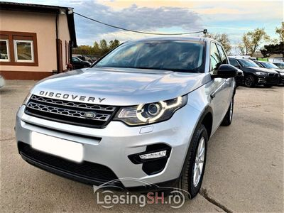 second-hand Land Rover Discovery Sport din 2016