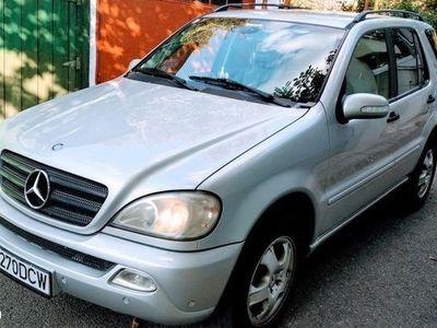 second-hand Mercedes ML270 ML