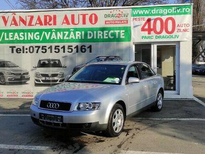 second-hand Audi A4 2.0Benzina,2001,Finantare Rate