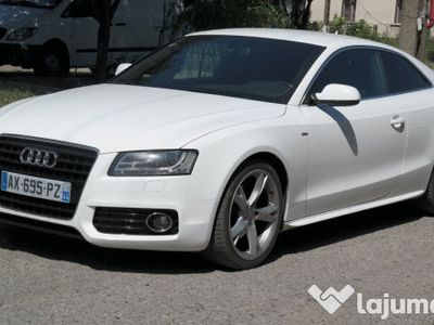second-hand Audi A5 Coupe Quattro S Line, 3.0 TDI Diesel, an 2010