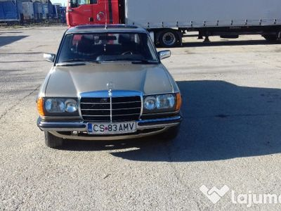 second-hand Mercedes 240 w 123 cobraan 1984