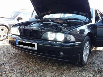 second-hand BMW 520 E39 Full Option Piele, mahon acte la zi