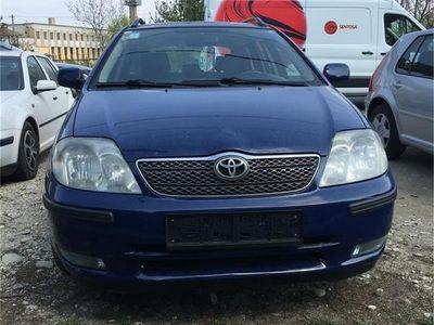 used Toyota Corolla linea sol 4d4