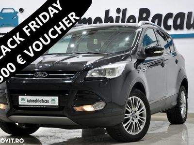 second-hand Ford Kuga 2.0 TDCi 140 CP 4x4 AUTOMATA 2014 Navi, Piele