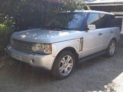 second-hand Land Rover Range Rover vogue 2004 cutie manuala volan dr.