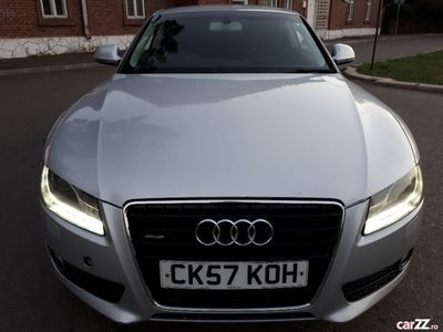 second-hand Audi A5 Coupe 2008 3.0Tdi recent adus