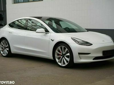 second-hand Tesla Model 3 Langstreckenbatterie