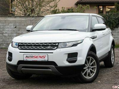 second-hand Land Rover Range Rover evoque 2013 - istoric Romania