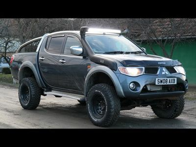 second-hand Mitsubishi L200 4x4 Animal OFF ROAD - an 2008, 2.5 (Diesel)