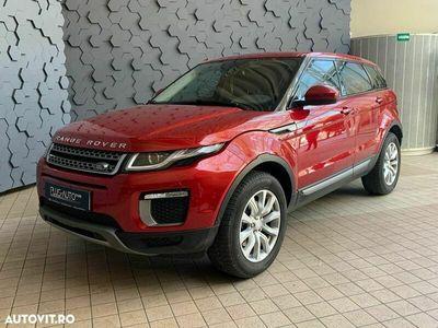 second-hand Land Rover Range Rover evoque 2016 Automată, motor Diesel 150 CP, 79.000 km, SUV