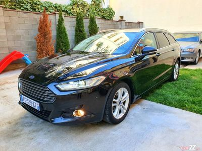 second-hand Ford Mondeo mk5,2016,2.0 diesel,180 cai,Euro 6,automat,full.