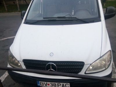second-hand Mercedes Vito 2.2 diesel euro 4 2008, extra lung, model 109