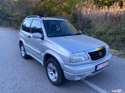 second-hand Suzuki Grand Vitara 4x4 1.6i-16valve benzină An 2004