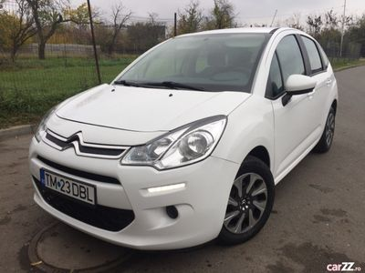 second-hand Citroën C3 euro 6, 100cp, gps, diesel, camera mers inapoi