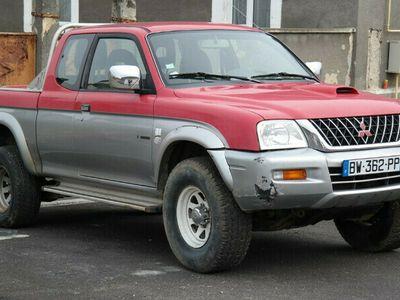 second-hand Mitsubishi L200 4x4 - an 2003, 2.5 (Diesel)