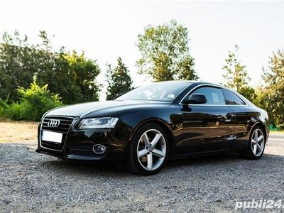 used Audi A5 coupe, automată, 211 CP, 95.000 km reali