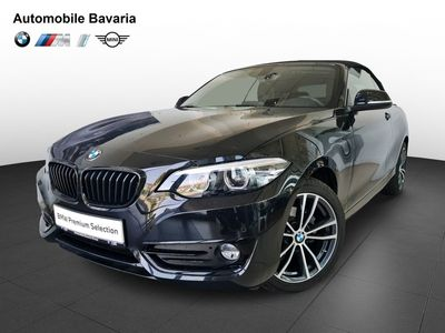 second-hand BMW 218 i Convertible Sport Line