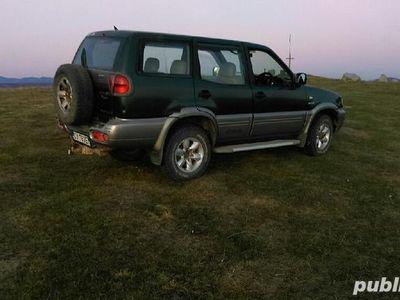 second-hand Nissan Terrano 2,7D, 4x4, 2001 inmatriculat