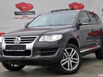 second-hand VW Touareg 3.0 V6 TDI 4MOTION 240 CP AUTOMATA 2009 IMPORT GE