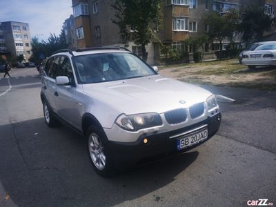 second-hand BMW 2000 x3 impecabildisel manual