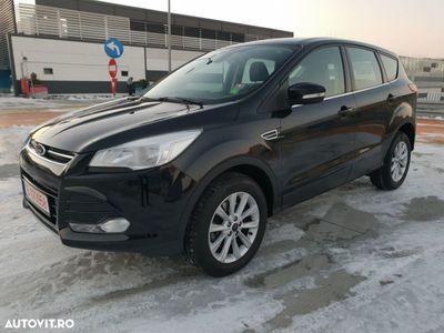 brugt Ford Kuga 2.0 Diesel Euro 6, Model Titanium, 4x4 Dublu Klima, Navi GPS, Senzori F+S, Jante 17.
