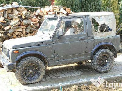 second-hand Suzuki Samurai jeep 1987 1000ccm 2 jepp