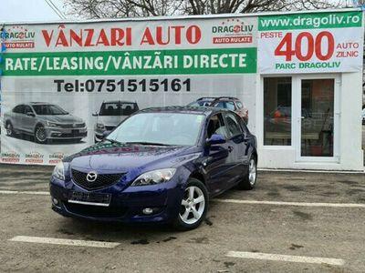 second-hand Mazda 3 1.6Benzina,2003,Finantare Rate