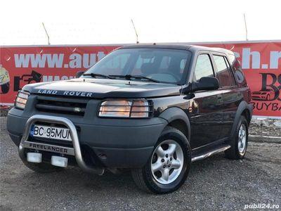 second-hand Land Rover Freelander 2001, 2.0 diesel, 4x4 =rate=
