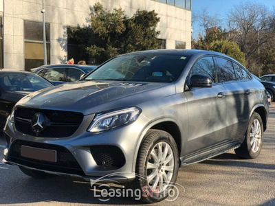 second-hand Mercedes GLE500 din 2017