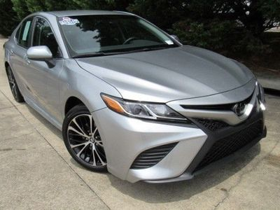 second-hand Toyota Camry 2017