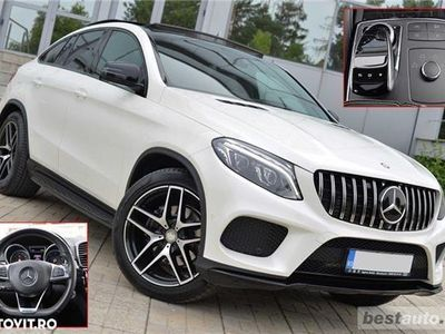 second-hand Mercedes GLE350 // 3.0 CDi 258 CP // Pachet AMG // Trapa Panoramica // Distronic Plus .
