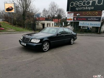 second-hand Mercedes S320 w140 long Variante SUV.