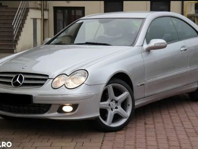 second-hand Mercedes CLK220 Coupe