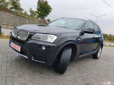 second-hand BMW X3 x drive x line euro 5 an 2012 rar făcut