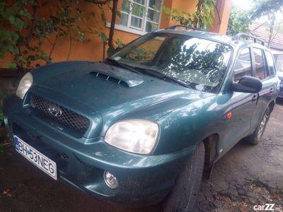 second-hand Hyundai Santa Fe sau schimb cu tractor