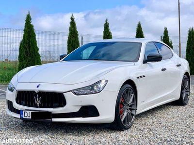 second-hand Maserati Ghibli