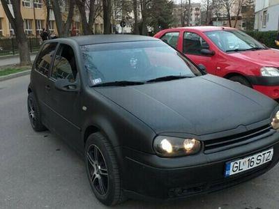 second-hand VW Golf IV Negru Mat