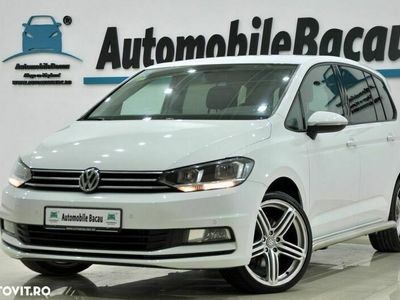 second-hand VW Touran 2.0 tdi 150 cp automata 2017 euro 6